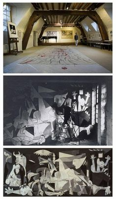 """Picasso's Paris Studio Declared National Landmark  The Grenier des Grands Augustins in Paris, the studio in which Pablo Picasso painted his celebrated work """"Guernica,"""" has recently been declared a National Landmark."""