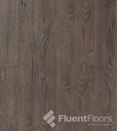 "Espresso Hickory VF04 1/4"" x 5-3/4"" x 4' Vinyl Plank Flooring"
