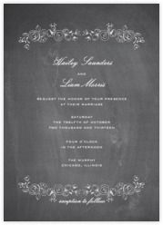 Wedding invitations, both online and on paper - Paperless Post