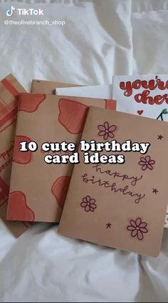 Birthday Gift Cards, Cute Birthday Gift, Birthday Cards For Friends, Bday Cards, Birthday Gifts For Best Friend, Birthday Diy, Birthday Ideas, Diy Best Friend Gifts, Ideias Diy