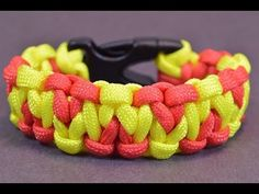 "Make ""Solomons Mountain"" Paracord Survival Bracelet - BoredParacord"