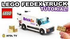 Modele Lego, Lego Truck, Lego Videos, Lego Boards, Video Tutorials, Legos, Pokemon, Scale, Trucks