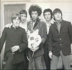 The Who  Jimi #love #60s #boys