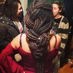 Long locs braid
