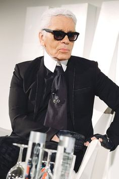 Karl Lagerfeld sat down with WWD's executive editor Bridget Foley to discuss a wide range of topics, from his fashion impulses to the relevance of couture.