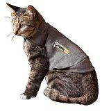 Completely natural Appropriate for all ages and breeds For Pet Type(s): Cats As seen on TV, Thundershirt is an affordable, drug-free solution for anxiety problems in pets.