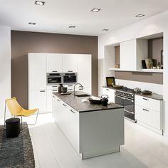 Ideal Koje Linea WeiSZ softmatt nolte german kitchen inspiration ideas