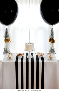 Graduation Party Inspiration | by Carrie Sellman for TheCakeBlog.com