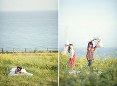 What a beautiful engagement shoot ♥