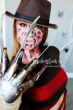 FREDDY KRUEGER Halloween Makeup