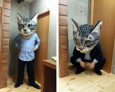 Studenten der Japan School of Wool Art hatten wohl etwas Langeweile könnte man meinen. Aber dieser gigantische Katzen-Schä ist tatsächlich mehr oder weniger offizielle entstanden. Zumindest hat Professor Housetu Sato mitgeholfen. Schaut aber auch genial aus!