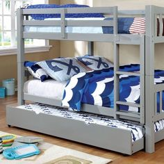 Check It Out! 17 Trendy American Furniture Warehouse Bunk Beds - 24 Fresh Trundle Bed Frame Only Gissur Se. See Also Jr Furniture Bedroom Sets Fresh Bunk Beds Loft Beds Captains Beds. Bunk Beds With Drawers, Bunk Bed With Trundle, Bunk Beds With Stairs, Twin Bunk Beds, Kids Bunk Beds, Twin Twin, Trundle Mattress, Large Drawers, Queen Bunk Beds