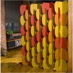 cardboard wall :) cool design