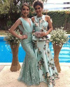 vestido de festa verde para madrinha de casamento