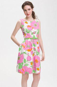 Kate Spade pink floral dress