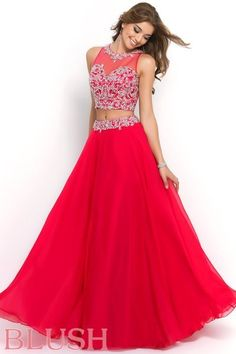 Blush Prom Dresses and Evening Gowns Blush 2015 Style 9906 #BlushProm