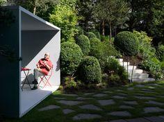 Gianni Botsford Architects e il padiglione in cemento trasparente