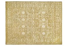 One Kings Lane - Soft Glamour - Cadence Rug, Gold