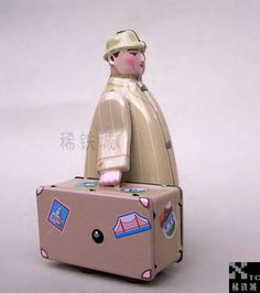 FREE SHIPPING Iron - wound-up tin toys classic reminisced ms472 - - suitcase on AliExpress.com. $49.08