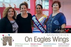 AmbergrisToday.com | Miss San Pedro Michelle Nuñez Works on Empowering Women | On Eagles Wings Ministries