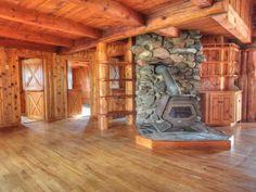 Joe Hovel Log Home -- MLS #157518 - 5279 Hwy 45, Conover, WI 54519