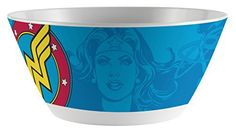 The large and easily visible character image adds fun and personality to the table. Kids love eating with their favorite character, whether it's mealtime, snack time, or anytime. This bowl is dishwasher safe, and multiples nest well together for convenient clean-up and storage. It's... - http://kitchen-dining.bestselleroutlet.net/product-review-for-zak-designs-cereal-bowl-with-wonder-woman-comics-graphics-break-resistant-and-bpa-free-melamine-6-diameter/
