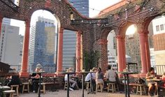 Best rooftop bars int'l: A short hop from Grand Central Station on East 39th Street, Pod 39 is 4,500 square feet of alfresco drinking pleasure (with some natty views to boot). Located 17 floors up, there are neoclassical touches aplenty including terracotta columns and exposed red brickwork. Pitch up at the copper-topped bar for a tequila and cop an eyeful of the panaromas that span the Chrysler Building to the East River.