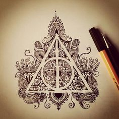 #harrypotter #HPLove #DeathlyHallows #Art