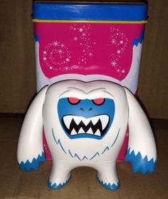 Disney Vinylmation Park Starz Series 3 Abominable Snowman Yeti with Tin LOOK Vinylmation