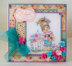 Ginger Meadows by Elisabeth Bell for Whimsey stamps.