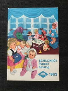 SCHILDKRÖT Puppen Katalog 1963 | eBay