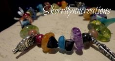 Check out this item in my Etsy shop https://www.etsy.com/listing/249659922/colorful-semiprecious-stone-bracelet