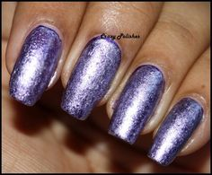 Crazy Polishes: Challenge: Day 8 - Metallic Nails