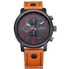 Relogio Masculino New Curren 8288 Mens Watches Top Brand Luxury Leather Men  Quartz Watch 2018 Casual Sport Clock Male Wristwatch  3a25b7c5f9e