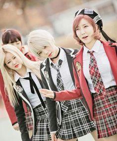 Hyungeun, Kimi & Sora