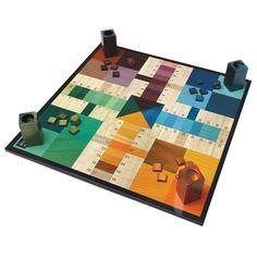 love graphic board games! parchEEsi!