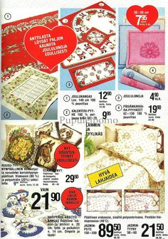 Pupuleipomo: Anttilan kuvasto, joulukuu 1981 Norman, Retro Vintage, Nostalgia