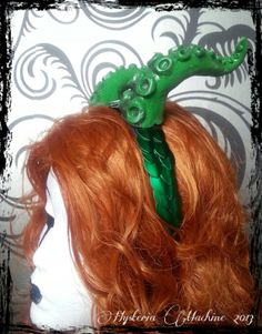 Chulthu Tentacle Headdress with fish scale by HysteriaMachine, £50.00