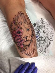 zodiac tattoos for every zodiac sign that'll leave you starstruck 1 Leo Tattoos, Dope Tattoos, Pretty Tattoos, Animal Tattoos, Unique Tattoos, Body Art Tattoos, Small Tattoos, Leo Zodiac Tattoos, Mini Tattoos