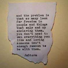 Liberty  #jmstorm #jmstormquotes  #poetry #instagood #quotes #quoteoftheday #poem #poetic #poetsofinstagram #writingcommunity #poetrycommunity #writersofinstagram #instaquote #instaquotes #poetsofig #igwriters #igpoets #lovequotes #wordporn #spilledink #prose #wordplay #igpoems #typewriterpoetry #typewriter