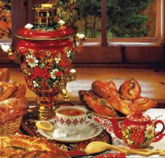 Tea is the most popular nonalcoholic beverage in Russia and traditional Russian tea ceremony closely reflects rich Russian culture, traditions...