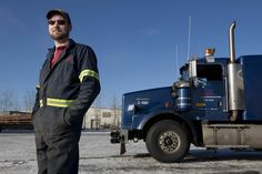 """Ice Road Truckers TV   Jack Jessee in """"Ice Road Truckers"""""""
