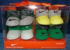 New Nike Baby Booties Crib Shoes Green/Gray, 0-6 Months. 4 Pair. by Nike. $22.46. 4 Pairs Genuine Nike Booties.. 4-pairs Nike Air Jordan Booties Socks Newborn Infant Baby Socks Crib Shoes 0-6 M Green Gray Yellow