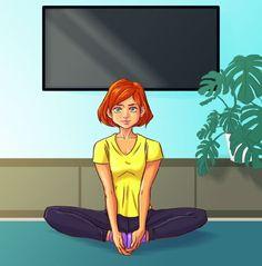 10 egyszerű ászana, ami különösen jót tesz a női egészségnek | Kuffer Gymnastics, Health Fitness, Workout, Disney Princess, Disney Characters, Sports, Crochet, Yoga Exercises, Abdominal Muscles