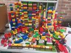 Lego Duplo HUGE MASSIVE LOT 518 pcs CARS Base Plates Circus Cycle Trike