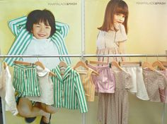 Marmalade and Mash, simple shapes in key colours and stripes are always a winner in the summer season for kids.