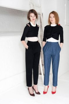 the cropped tops