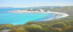 Beach artwork painting aqua - Kerry Nobbs - Esperance