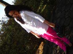 Calça rosa!