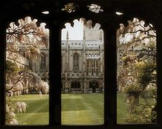 Magdalen College, Oxford, UK:  Home of C.S. Lewis